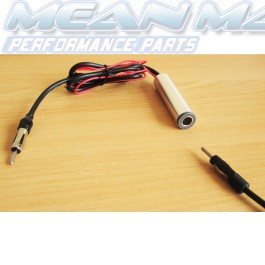 12V Car Antenna Aerial Amplifier Amplified Booster AM / FM