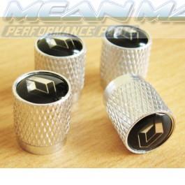 Renault 19 21 25 4 5 AVANTIME CLIO ESPACE Aluminium Valve Caps