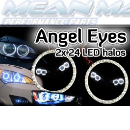 Seat IBIZA INCA LEON MALAGA Angel Eyes light headlight halo