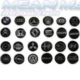 Car Brand Horn Decal - 45mm