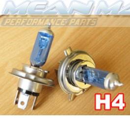 H4 Xenon gas HID look Halogen Light Bulbs