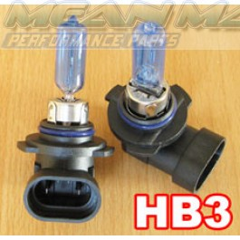 HB3 Xenon gas HID look Halogen Light Bulbs