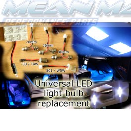 Mazda 1 2 3 323 6 626 B-SERIES DEMIO E MPV LED light bulb strip