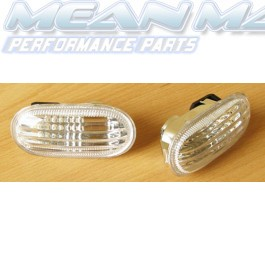 MITSUBISHI Galant Proton Lancer EVO 3 4 Colt Crystal Clear Side Repeaters