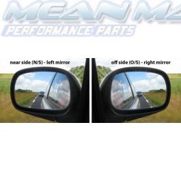 Side / Wing Mirror Glass FORD FIESTA 83-89