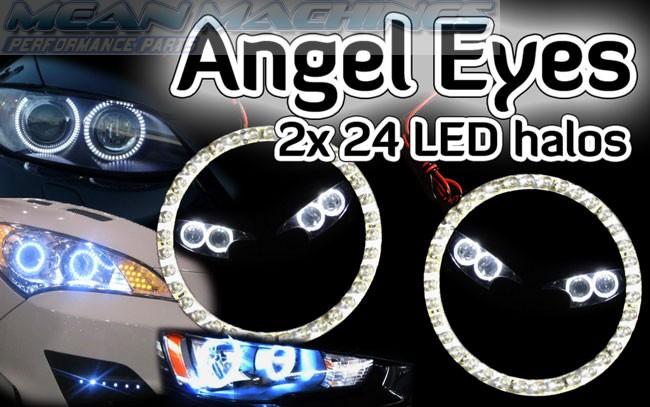 MG MGF TF ZR, ZS, ZT ZS Angel Eyes light headlight halo