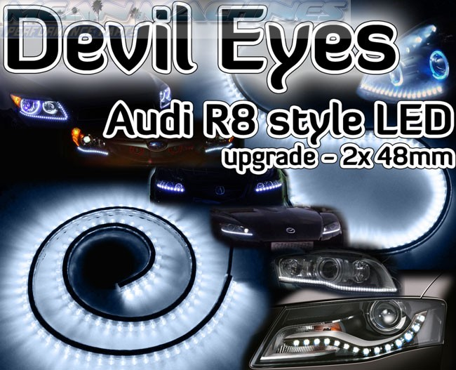 angels eyes skoda octavia 2
