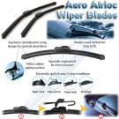 HYUNDAI Pony XP 1990-1992 Aero frameless wiper blades