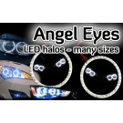 Car Angel Eye Light Headlight LED Halo Ring