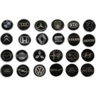 Car Brand Horn Decal - 45mm