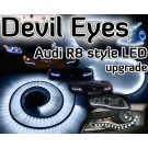 Devil Eyes Audi style LED strip for headlights, foglights