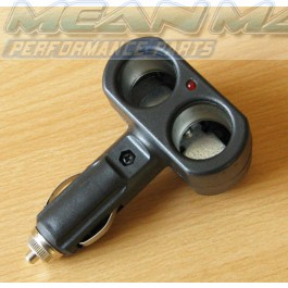2 way Car Cigarettle Lighter Splitter 12V 20mm
