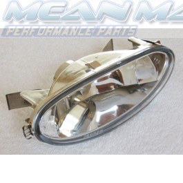 Peugeot 206 Crystal Clear Rear Chrome Fog Light Lights