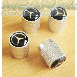 Mercedes Booted Rear C CLASS CABRIOLET Aluminium Valve Caps