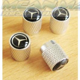 Mercedes E CLASS G CLASS KOMBI M CLASS Aluminium Valve Caps