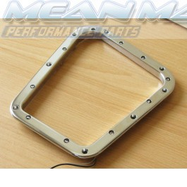 BMW 3 Series Chrome and LED Gear Shift Surround Frame