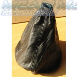 Leather Gear Gaiter Boot CITROEN C1 PEUGEOT 107 TOYOTA AYGO