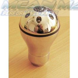 All Chrome blue LED Gear Knob