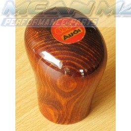Real Laquered Wooden Audi Gear Knob