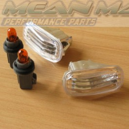 HONDA Civic HRV Chrome Crystal Clear Side Repeaters Lights
