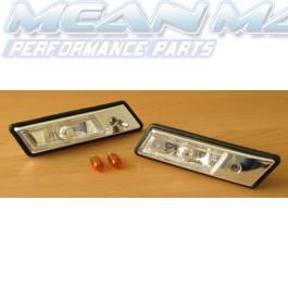 BMW E30 E32 E34 E36 Crystal Clear Side Indicators Repeaters