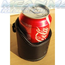 Real Leather car cup bottle can drinks holder pouch
