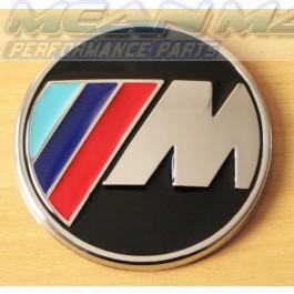BMW M Power M3 M5 Trunk Boot Badge - round