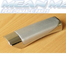 Silver and Chrome Handbrake Cover
