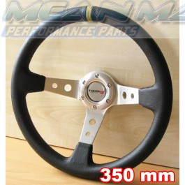 Deep Dish Steering Wheel - 350 mm