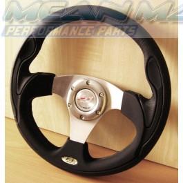 Real Leather F1 XTR Flight Racing Steering Wheel
