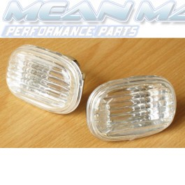 TOYOTA Celica Corolla MR2 Rav 4 Crystal Chrome Side Repeaters