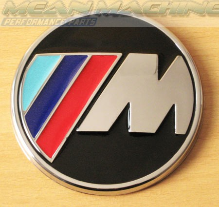 Df Kit Car >> BMW M Power M3 M5 Trunk Boot Badge - round - Badges / Lettering - Exterior Style