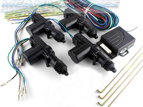 Solenoid    Actuator   Remote Central Locking Kit Combo 4