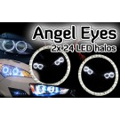 Peugeot 407 605 607 806 807 BOXER Angel Eyes light headlight halo