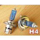 H4 Xenon gas HID look Halogen Light Bulbs