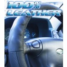 Mercedes Booted Rear C CLASS Leather Steering Wheel Cover