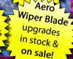 Aero Wiper Blade upgrade sale
