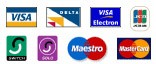 Debit Credit card logos